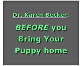 Dr. Karen Becker: 