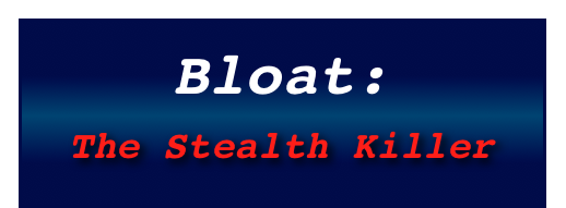 Bloat: