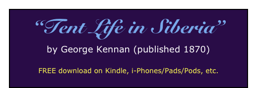 """Tent Life in Siberia""